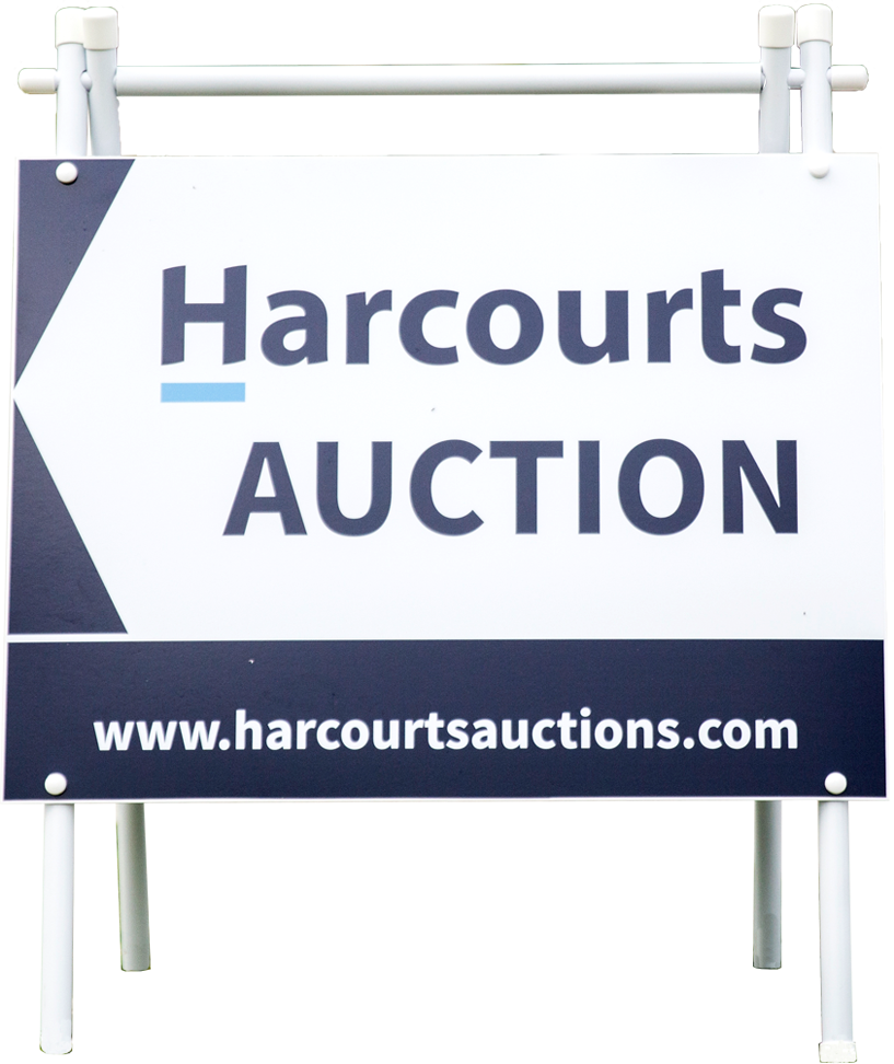 Harcourts Buying Sign