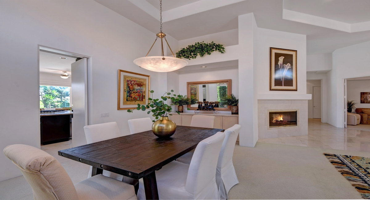 DINING ROOM REVERSE TO FIREPLACE